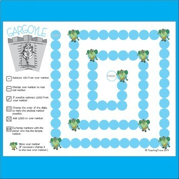 Place Value Games to 10,000