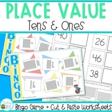 Place Value Worksheets and Game for Numbers 1 to 100