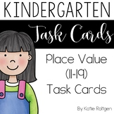 Place Value (Numbers 11-19) Task Cards