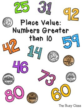 Place Value: Numbers Greater than 10