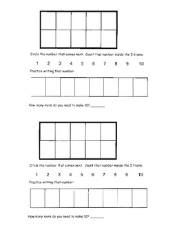 Place Value: Numbers to 10