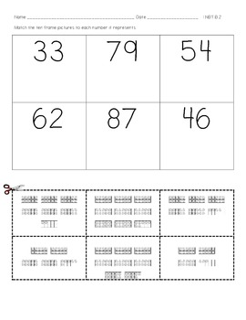 Place Value - Numbers to 99