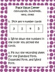 Place Value / Numeration (3 and 4 digits)