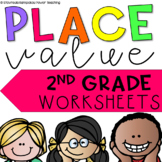 Place Value Math Centers (Ones, Tens and Hundreds)
