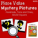 Place Value Art Activity, Place Value Hundreds Worksheets Mystery Pictures