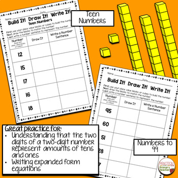 Place Value Tens and Ones