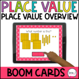 Place Value Overview Boom Cards | Distance Learning