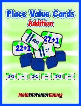 Place Value PLUS 1 Cards {Place Value Game}