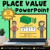 Place Value POWERPOINT Lessons for 2 & 3 Digit Numbers