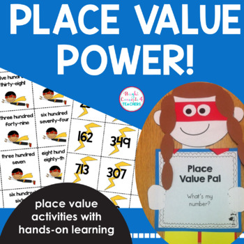 Place Value POWer Activities and Craftivity! {Common Core