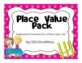 Place Value Pack - Games, Centers & More!