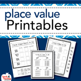 Place Value Worksheets for First and Second Grade