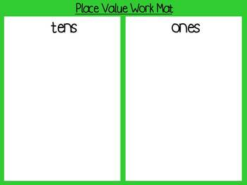 Place Value Pack with Double-Digit Addition and Subtraction on Graph Paper