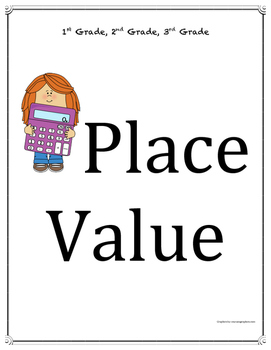 Place Value Packet - 15 pages - Simple to Read - Common Core NBT