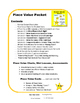 PLACE VALUE | Packet | Mini Lessons | Assessments | MATH Task Cards Gr 4-5