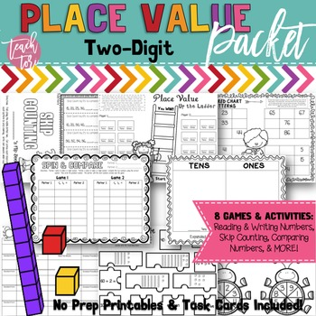 Place Value Games and Worksheet Packet