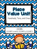 Place Value Packet -  Common Core aligned - Primary Grades