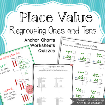 Place Value Regrouping By Interactive Learning With Miss Stefany