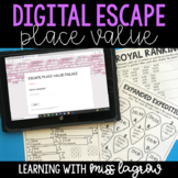Escape Place Value Palace: Digital Escape Activity