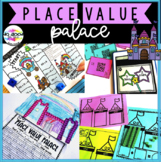 Place Value Palace - Fairy Tale Printable, Hands-On & Digital Stations (#1-120)