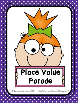 Place Value Parade Task Cards (5.NBT.1)