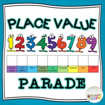 Place Value Parade - Unders... by Classroom Hoopla | Teachers Pay ...