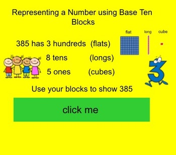 Place Value Part 1- Interactive Smartboard Activity