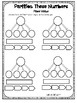 Place Value Partitioning Freebie Worksheets