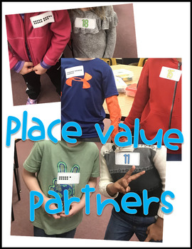 Place Value Partner Game