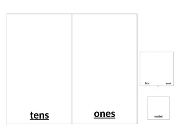 Place Value Partner Game Template