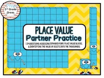 Place Value Partner Practice