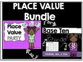 Place Value Party & Base Ten Bingo Bundle!