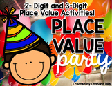 Place Value Party! {2-Digit and 3-Digit Place Value Practice}