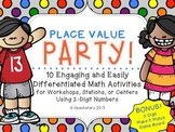 Place Value Party Engaging and Differentiated Math Activit
