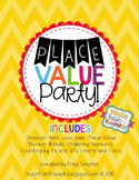 Place Value Party!  {Place Value Activities for 1st Graders}