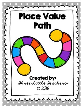 Place Value Path - Math Game