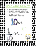 Place Value Patterns - Poster and Practice