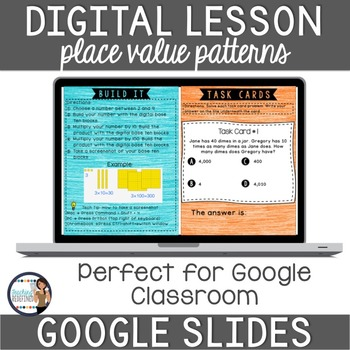 Place Value Patterns of Ten Digital Interactive Lesson