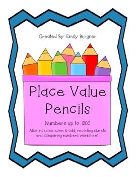 Place Value Pencils Center