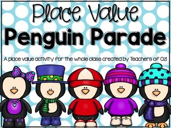 Place Value Penguin Parade