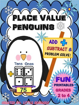Grade Two Place Value Math Games: Addition and Subtraction Fun