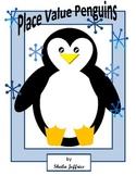 Place Value Penguins - Math Center