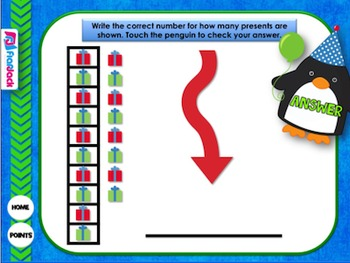 place value penguins smart board game by flapjack educational resources. Black Bedroom Furniture Sets. Home Design Ideas