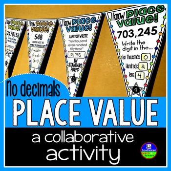 Place Value Pennant {no decimals}