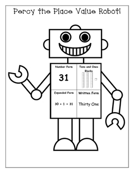 Place Value - Percy the Place Value Robot