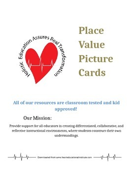 Place Value Picture Cards