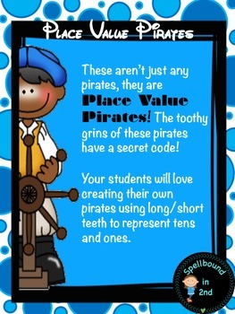 Place Value Pirate Craftivity