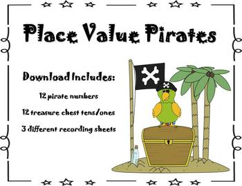 Place Value Pirate Math Center {FREEBIE}