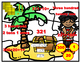 Place Value Pirate Puzzles 3 digit Numbers -FREEBIE
