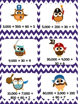 Read The Room: Place Value Pirates